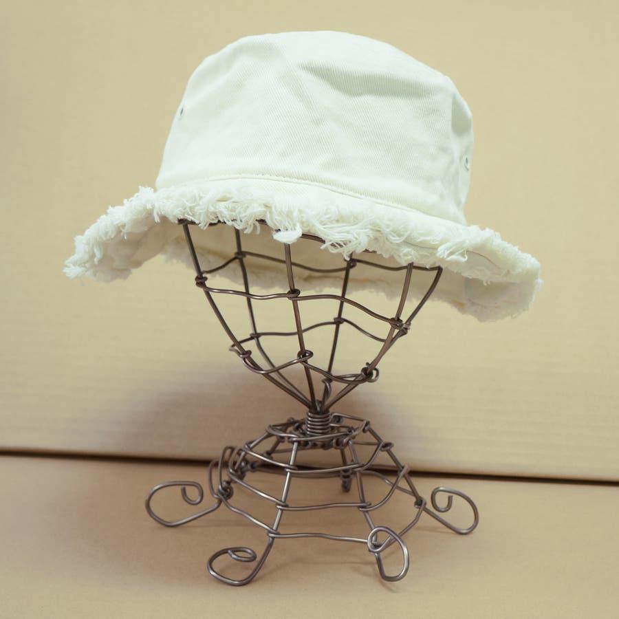 バケットハット 帽子 メンズ レディース ハット サファリハット フリンジ コットン 春 夏 秋 キーズ Keys-175 4