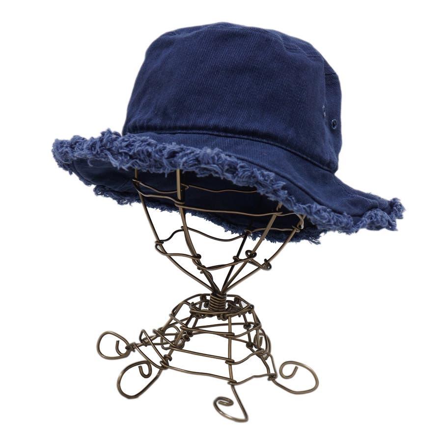 バケットハット 帽子 メンズ レディース ハット サファリハット フリンジ コットン 春 夏 秋 キーズ Keys-175 8