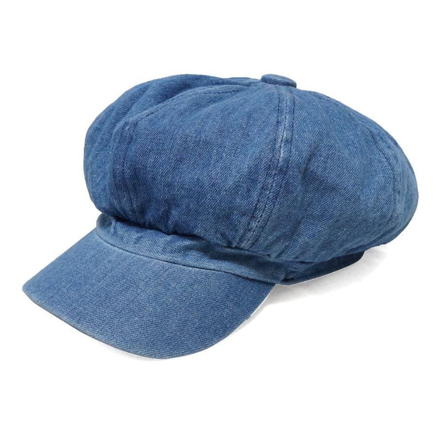 帽子 キャスケット キャス メンズ レディース デニム ツバ付き 春 夏 秋 冬 キーズ Keys-177 65