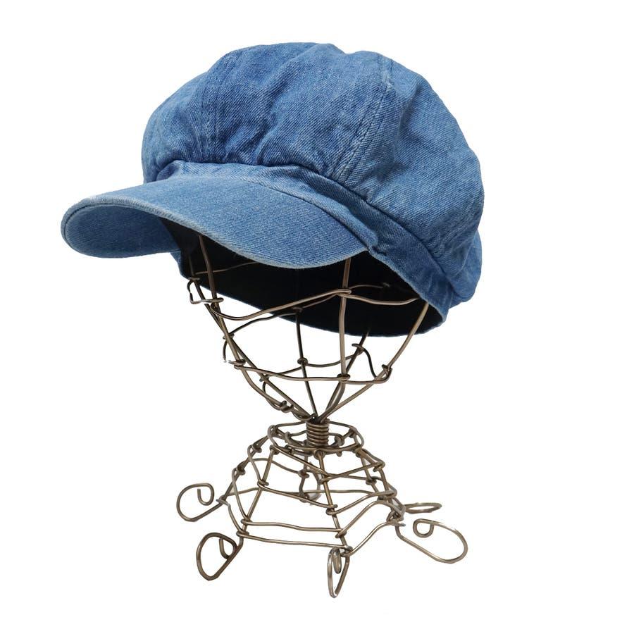 帽子 キャスケット キャス メンズ レディース デニム ツバ付き 春 夏 秋 冬 キーズ Keys-177 3