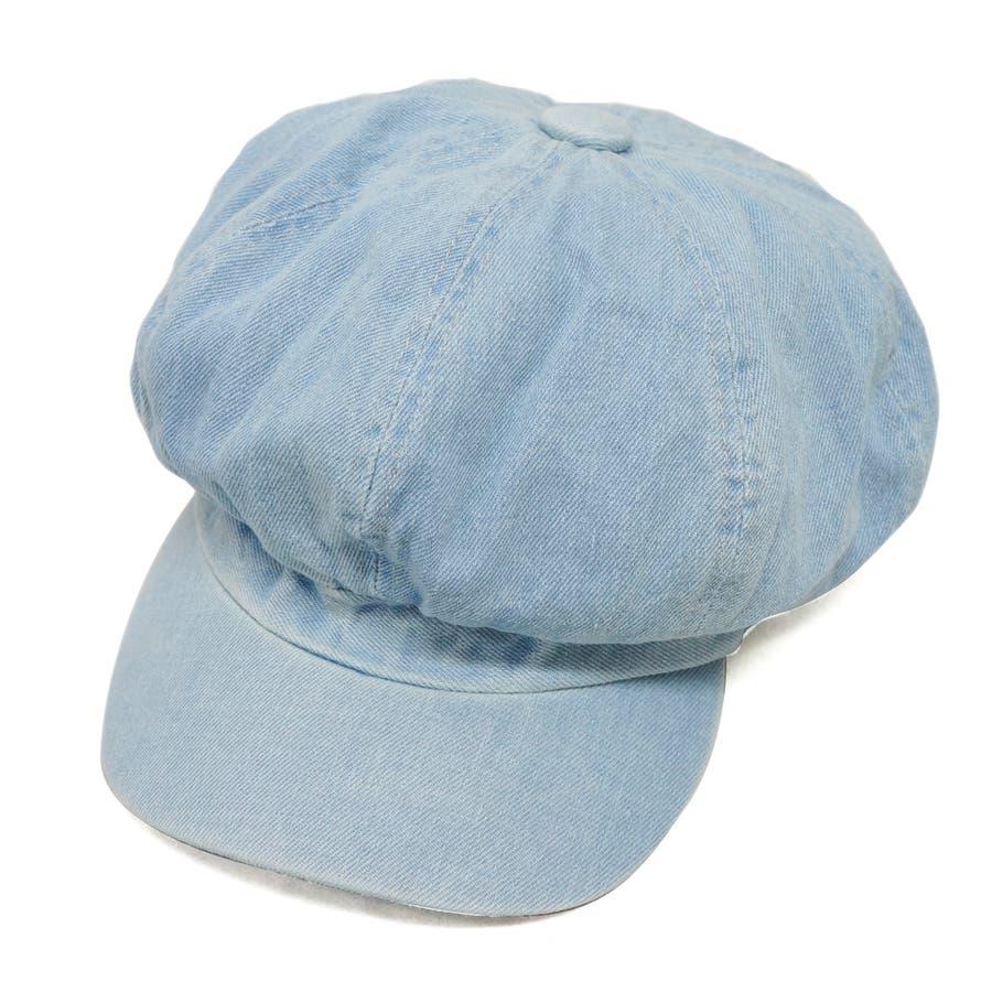 帽子 キャスケット キャス メンズ レディース デニム ツバ付き 春 夏 秋 冬 キーズ Keys-177 60