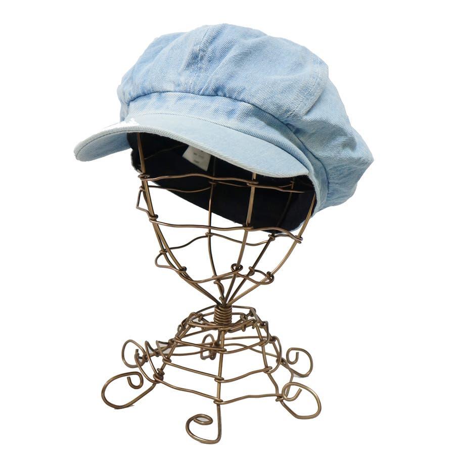 帽子 キャスケット キャス メンズ レディース デニム ツバ付き 春 夏 秋 冬 キーズ Keys-177 6