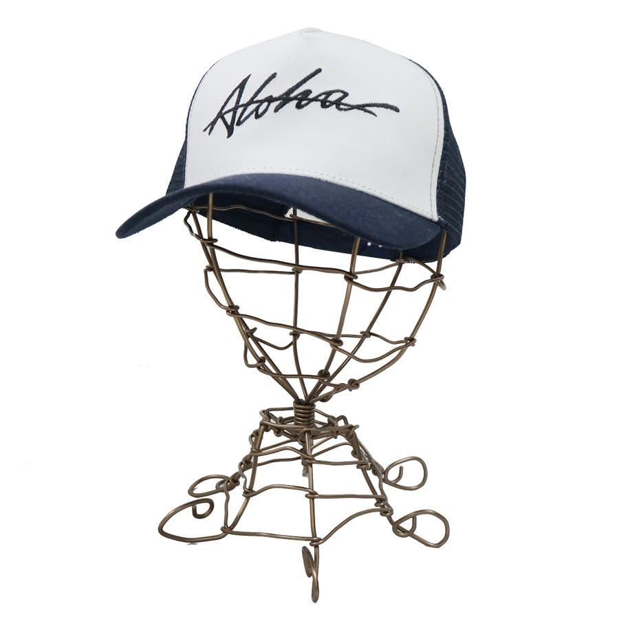 帽子 メッシュキャプ メッシュ キャップ メンズ レディース ベースボールキャップ コットンツイル ALOHA キーズKeys-183 5