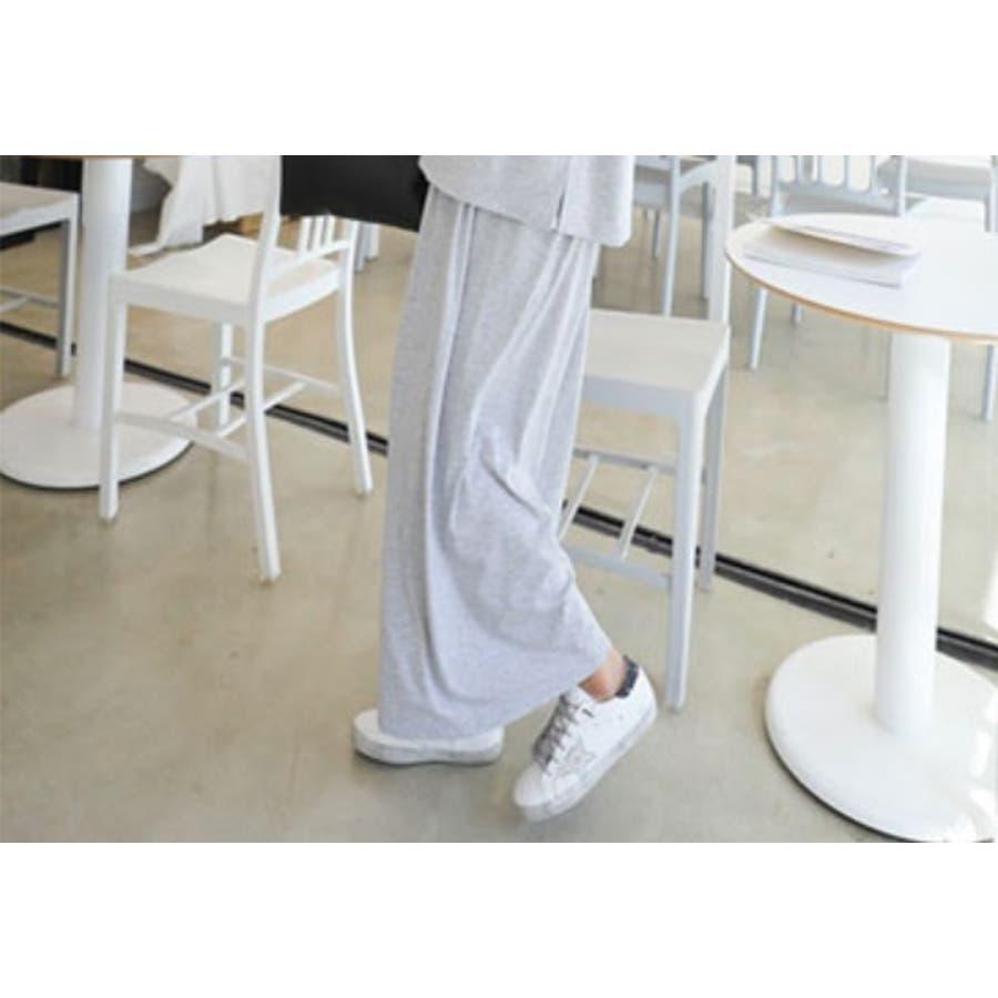 授乳 ルームウェア マタニティ 五分袖 ワイドパンツ セットアップ 半袖 授乳 兼 マタニティセットアップ/SPN71009マタニティー ママ 妊婦 韓国 韓国ファッション 大きいサイズ 8