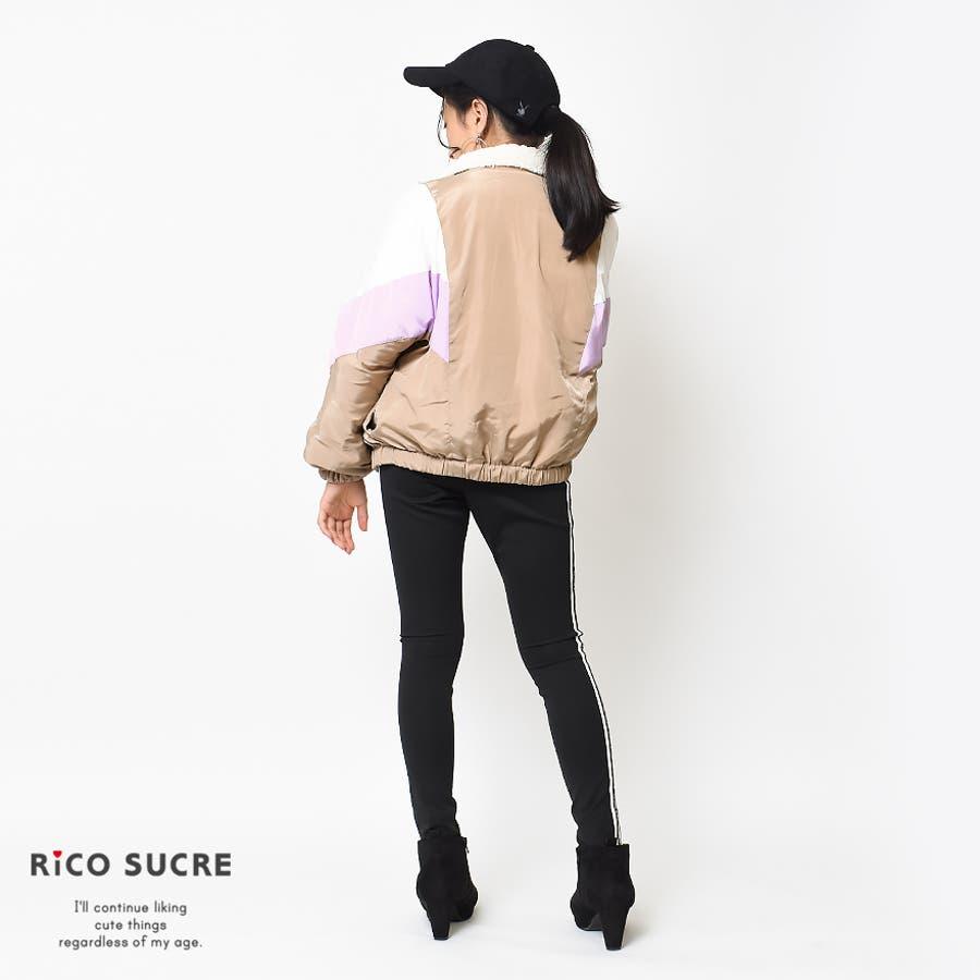 ボアリバーシブルジャケット ナイロン ブルゾン アウター あったか 子供服 女の子 小学生 中学生 ファッション キッズジュニア韓国子供服 大人っぽい ダンス 130cm 140cm 150cm 160cm 165cm 9