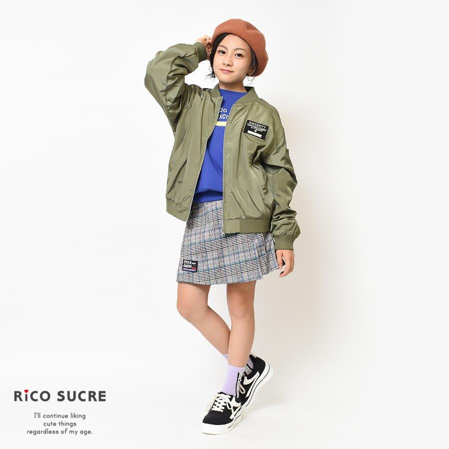裏メッシュMA-1 ジャケット ブルゾン アウター ゆったり 子供服 女の子 小学生 中学生 ファッション キッズ ジュニア韓国子供服大人っぽい ダンス 130cm 140cm 150cm 160cm 165cm 4