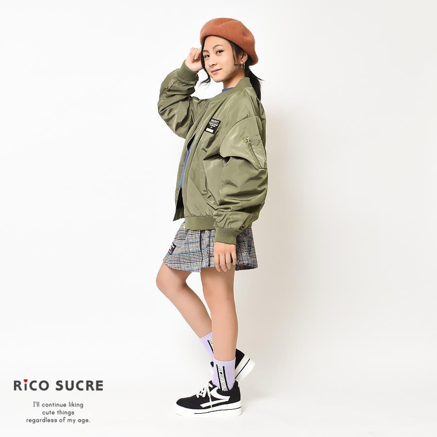 裏メッシュMA-1 ジャケット ブルゾン アウター ゆったり 子供服 女の子 小学生 中学生 ファッション キッズ ジュニア韓国子供服大人っぽい ダンス 130cm 140cm 150cm 160cm 165cm 5