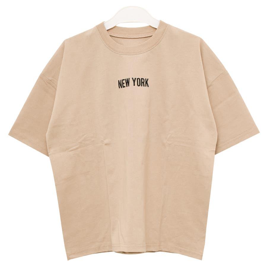 バックプリントスーパービッグTシャツ トップス カットソー ゆったり 夏 涼しい 子供服 男の子 小学生 中学生 ファッション キッズジュニア 韓国 大人っぽい ダンス 120cm 130cm 140cm 150cm 160cm 41