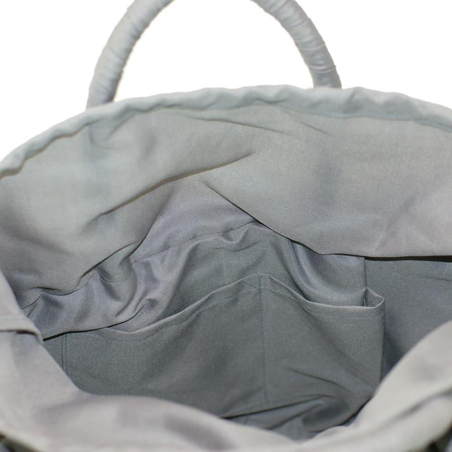 【グッシオ ベーシック】かごバッグ シンプル 軽量 フリル付き ハンドバッグ 12-9177 9