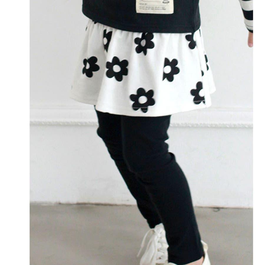 韓国子供服Bee レギンス付きスカート 女の子 20