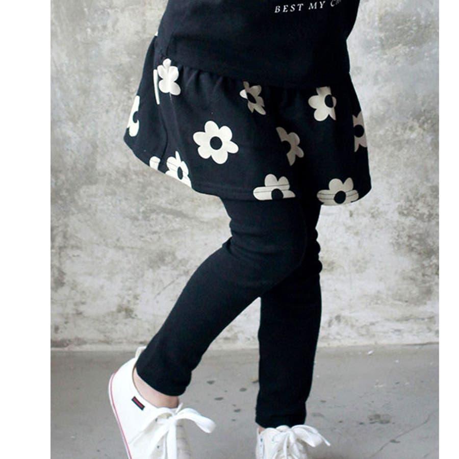 韓国子供服Bee レギンス付きスカート 女の子 22