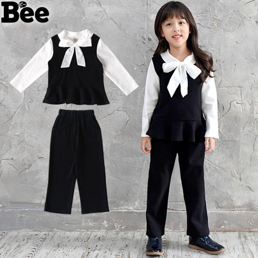 3647c2ba11e49 ... 発表会 フォーマル ブラック リボン 蝶ネクタイ. マウスを合わせると画像を拡大できます. 画像一覧を見る ·  韓国子供服 セットアップ