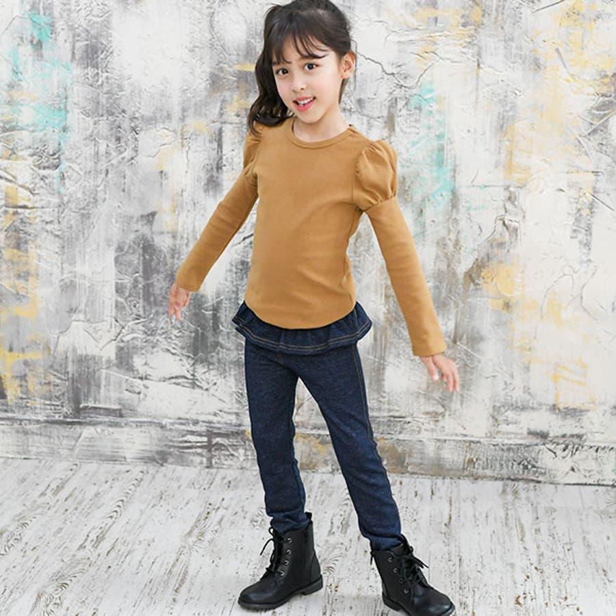 韓国子供服Bee デニムレギパン 女の子 5