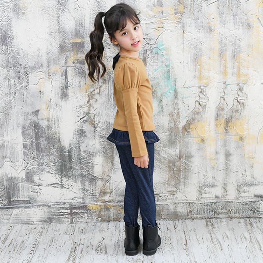 韓国子供服Bee デニムレギパン 女の子 7