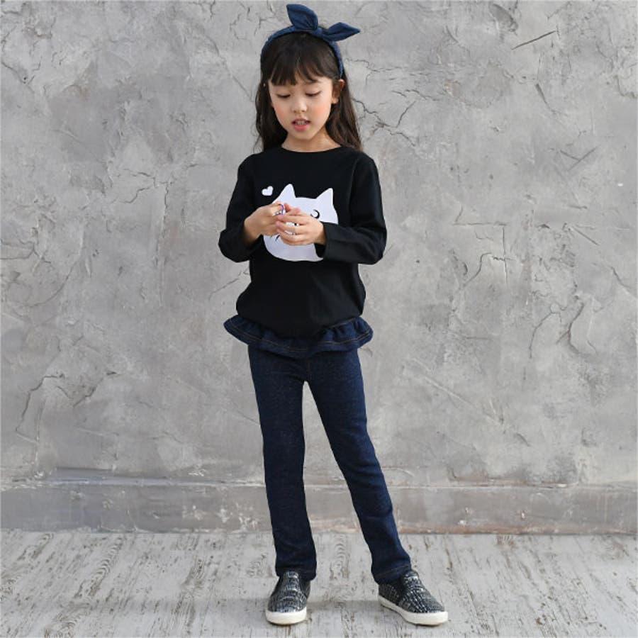 韓国子供服Bee デニムレギパン 女の子 8