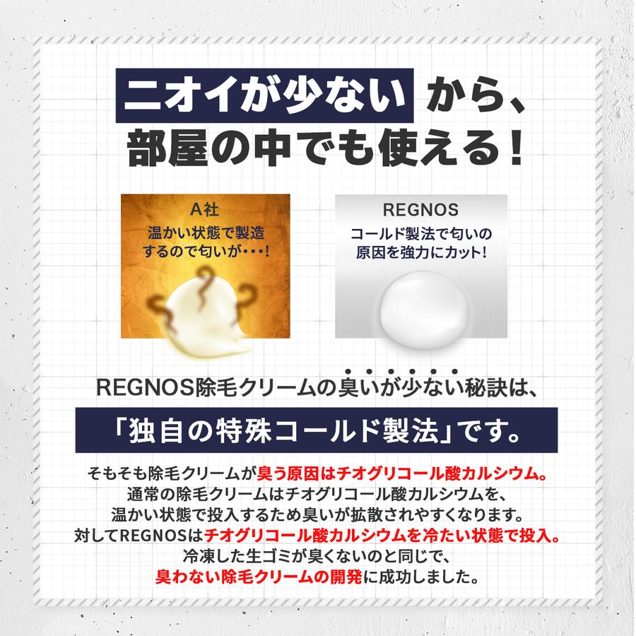 REGNOS(レグノス) メンズ除毛クリーム 6
