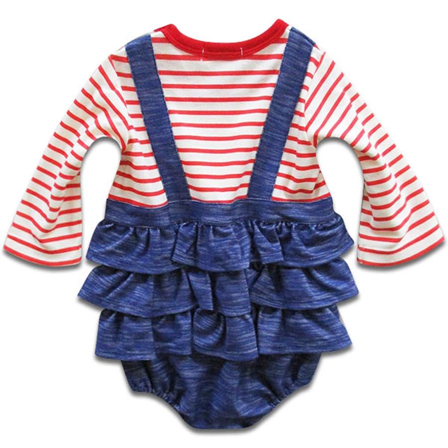 韓国子供服 女の子 長袖カバーオール韓国子供服70cm 3