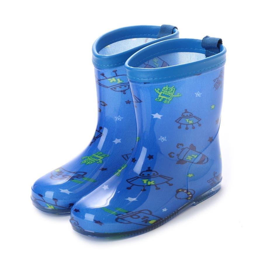 db08565c7dcfa 長靴 子供用 幼児用 レインブーツ かわいい レインシューズ 子供 ベビー ...