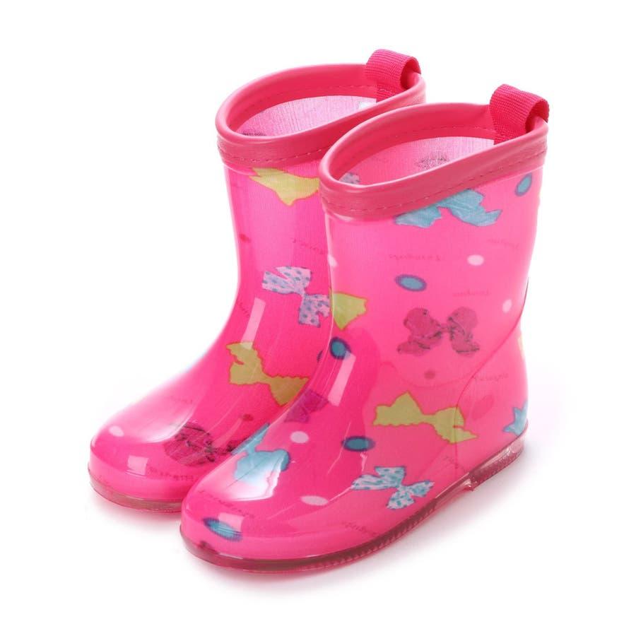 長靴 子供用 幼児用 レインブーツ かわいい レインシューズ 子供 ベビー キッズ 子供靴 雨靴 ながくつ ながぐつ ( 15 1617 18 19 cm) 87