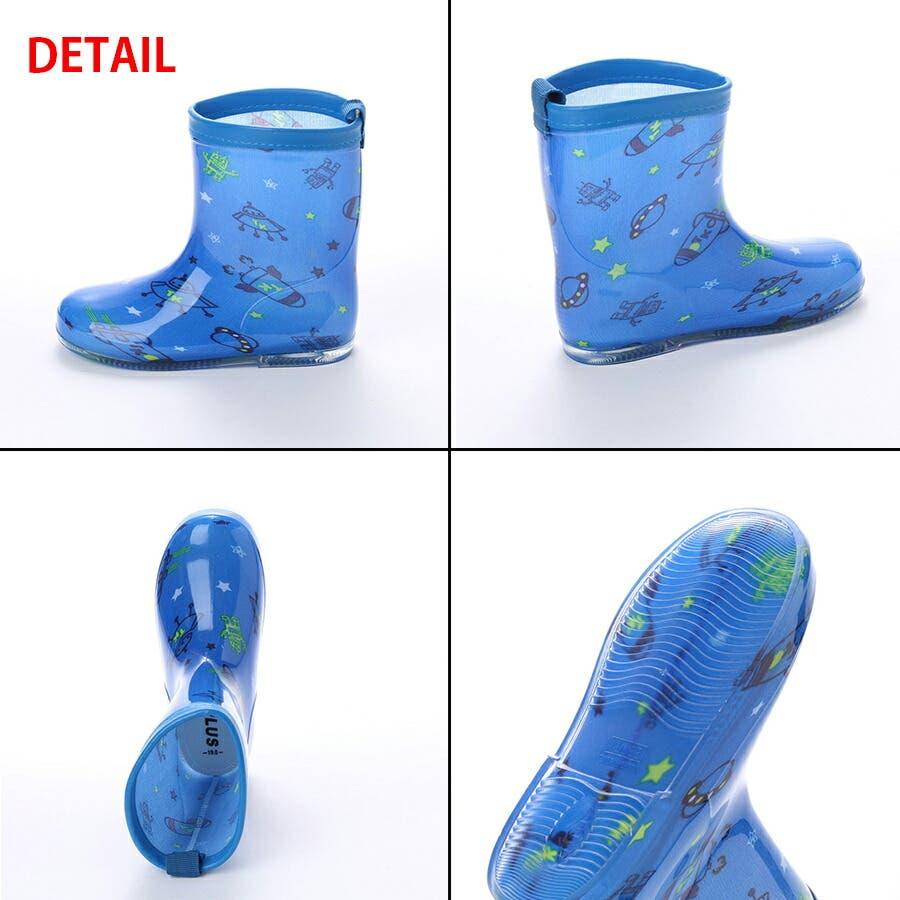 長靴 子供用 幼児用 レインブーツ かわいい レインシューズ 子供 ベビー キッズ 子供靴 雨靴 ながくつ ながぐつ ( 15 1617 18 19 cm) 3