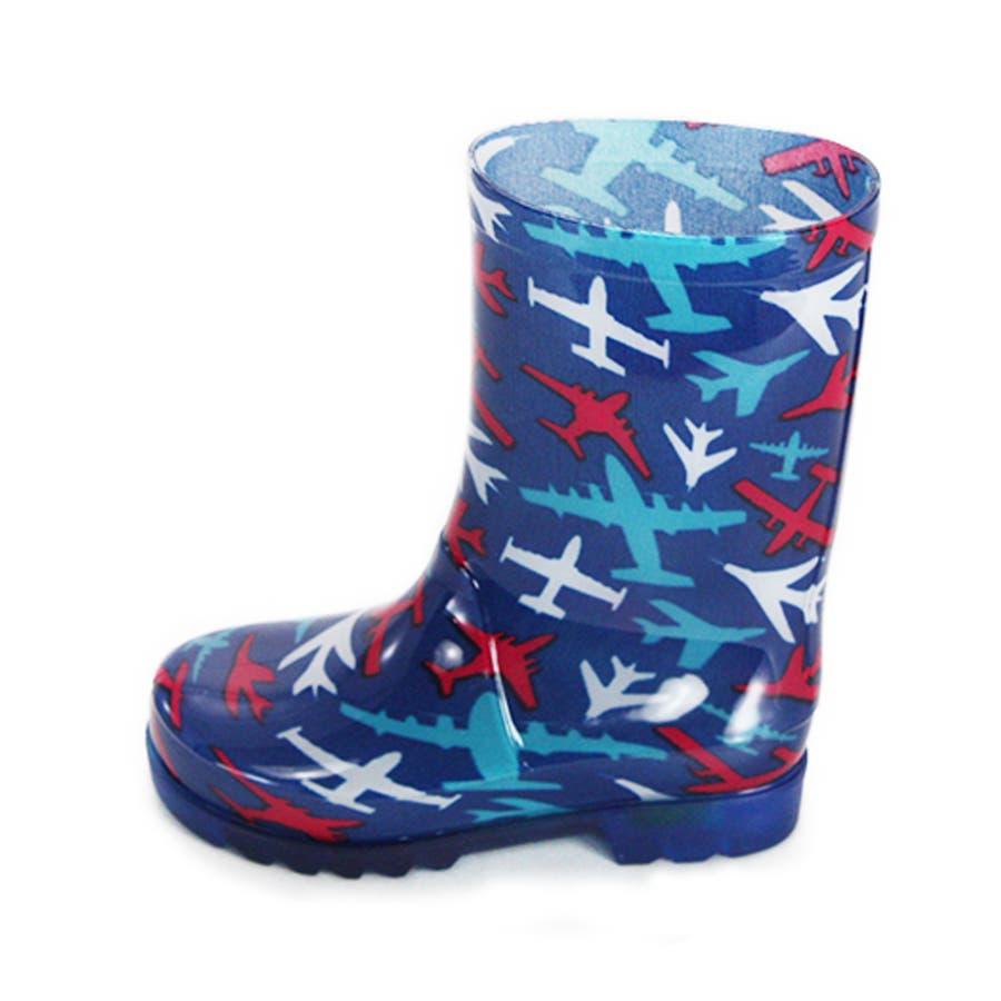 歩くたびに光る LED内蔵ソール キッズレインブーツ Lighting Rain Boots 長靴・kp_18004 9