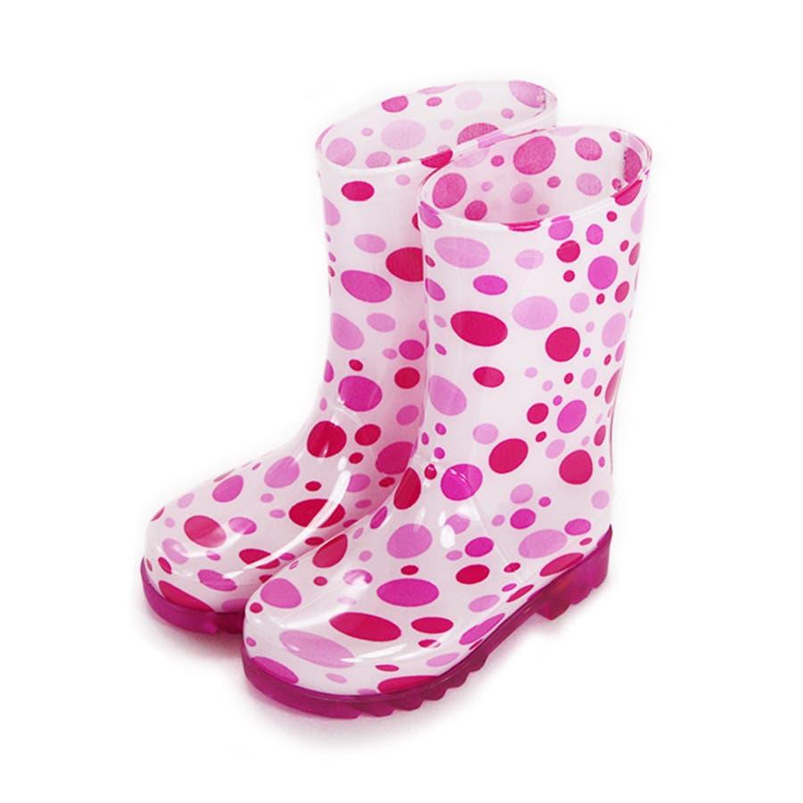歩くたびに光る LED内蔵ソール キッズレインブーツ Lighting Rain Boots 長靴・kp_18004 108