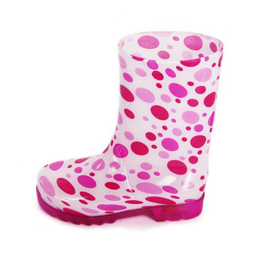 歩くたびに光る LED内蔵ソール キッズレインブーツ Lighting Rain Boots 長靴・kp_18004 3