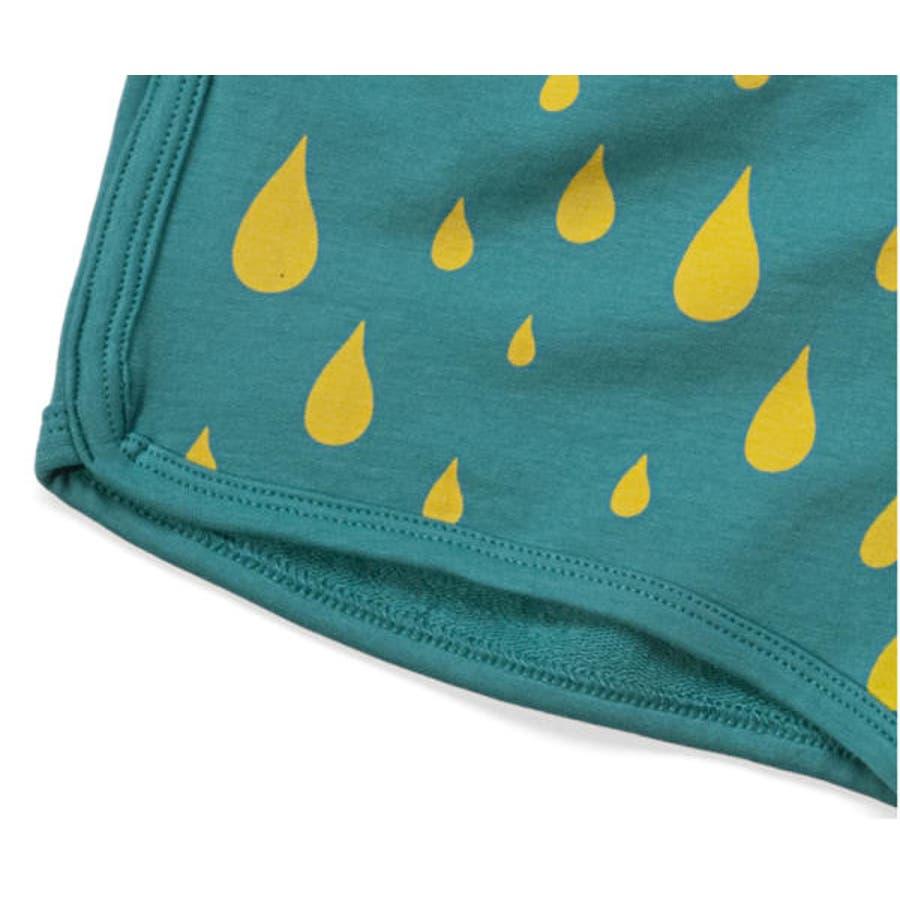 ファンキーレッグス FunkyLegs イスラエルブランド 雨粒柄 ショーツ レインドロップ ショーツ 雨粒柄ショートパンツレインドロップ ショートパンツ 4
