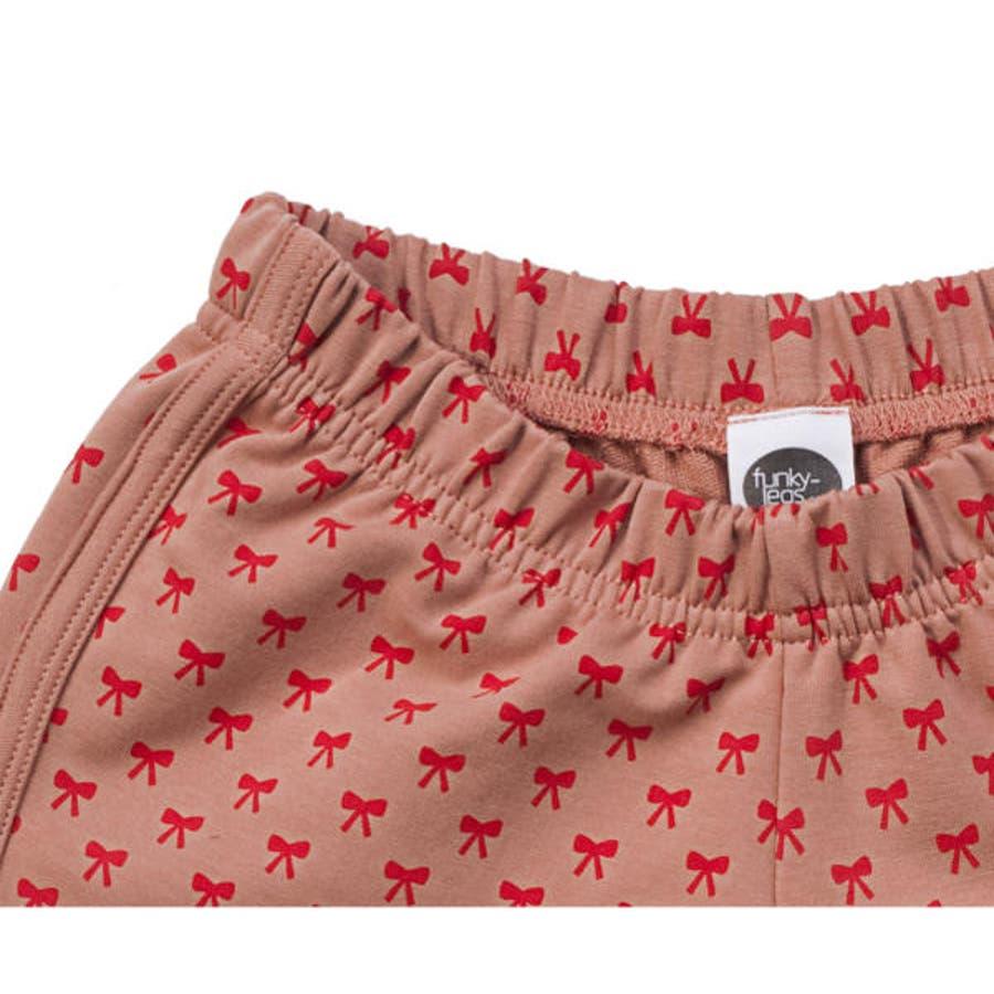 ファンキーレッグス FunkyLegs イスラエルブランド リボン ショーツ ボウ ショーツ リボン ショートパンツボウショートパンツ 3