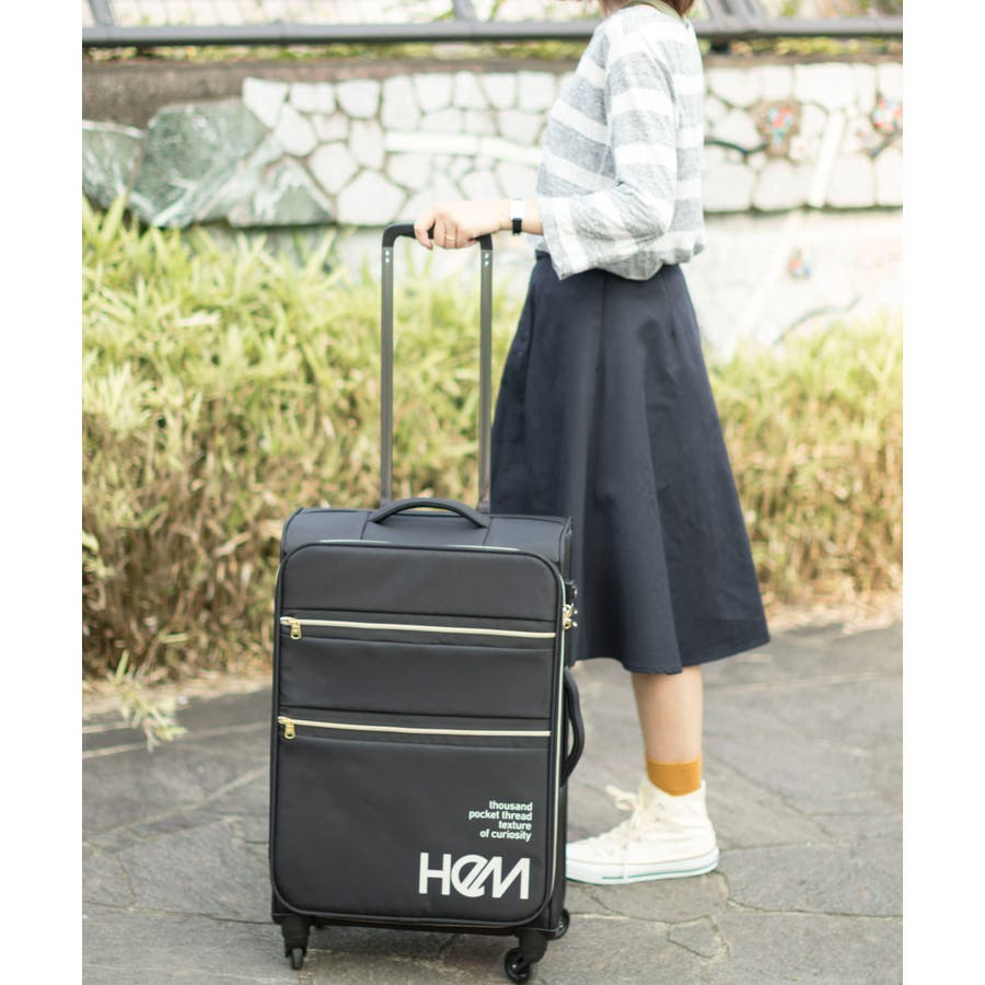 HeM(ヘム) 超軽量スーツケース リーベ Mサイズ 21