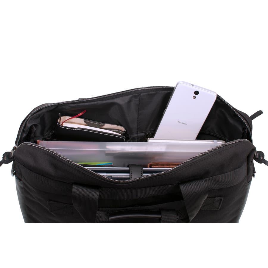 [マンハッタンエクスプレス]ビジネスバッグ シングル PVC付属 B4対応サイズ 10