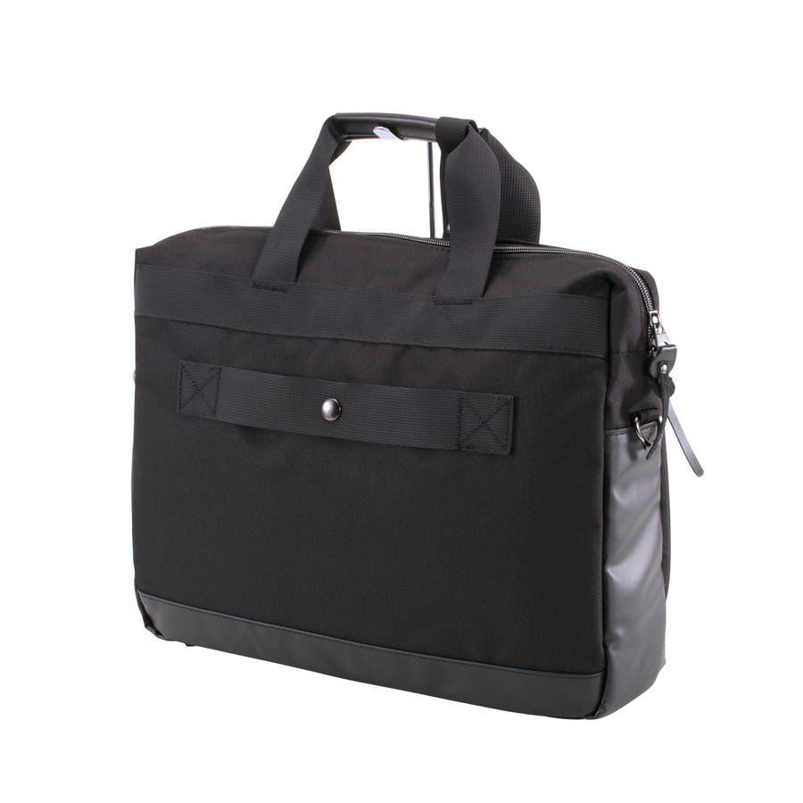 [マンハッタンエクスプレス]ビジネスバッグ シングル PVC付属 B4対応サイズ 2