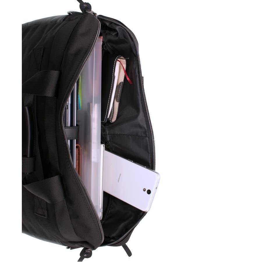 [マンハッタンエクスプレス]ビジネスバッグ シングル PVC付属 B4対応サイズ 6