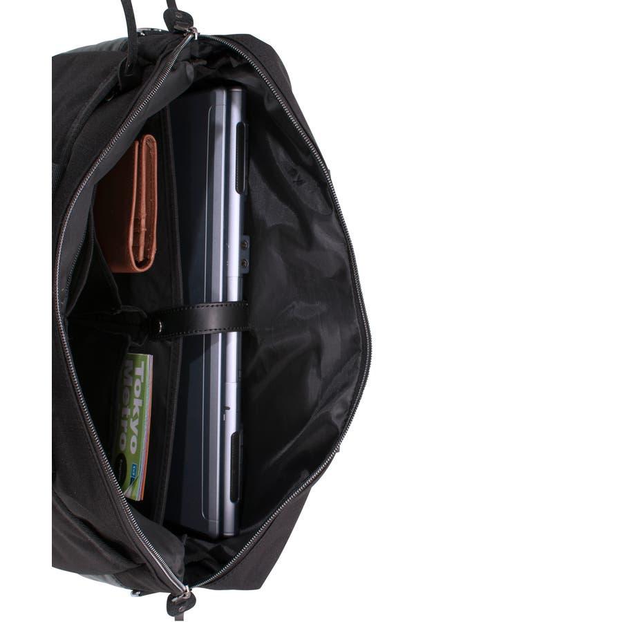 [マンハッタンエクスプレス]ビジネスバッグ シングル PVC付属 B4対応サイズ 7