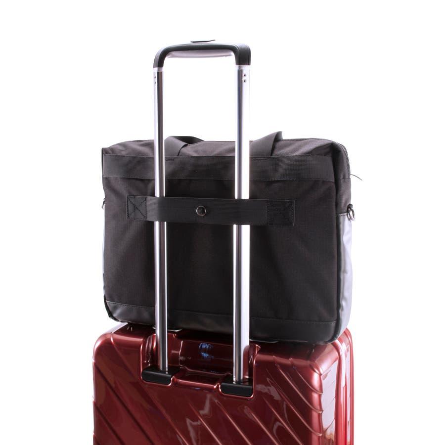[マンハッタンエクスプレス]ビジネスバッグ シングル PVC付属 B4対応サイズ 8