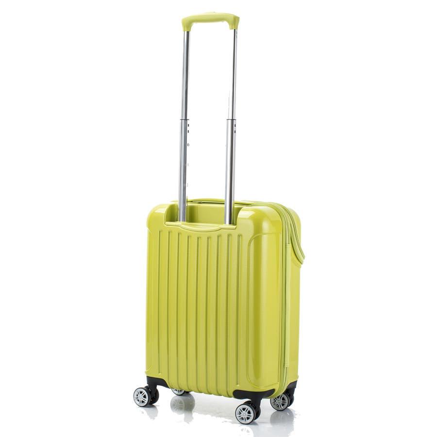 【ACTUS】TOPS Sサイズ トップオープン ファスナースーツケース 6
