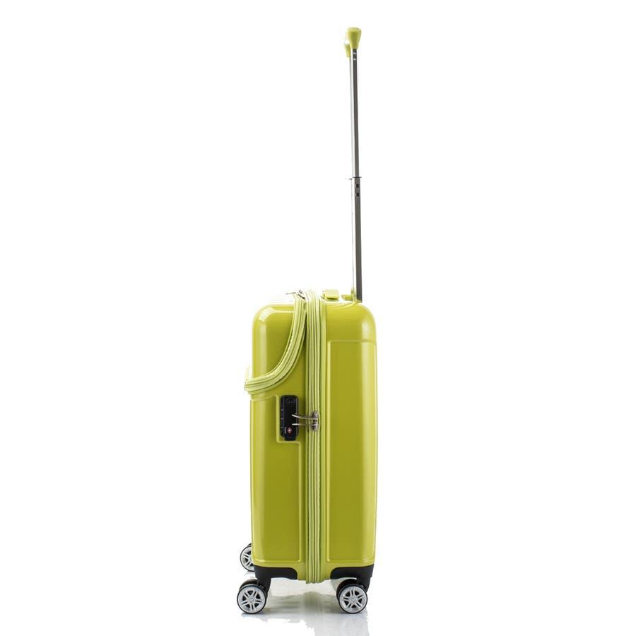 【ACTUS】TOPS Sサイズ トップオープン ファスナースーツケース 8