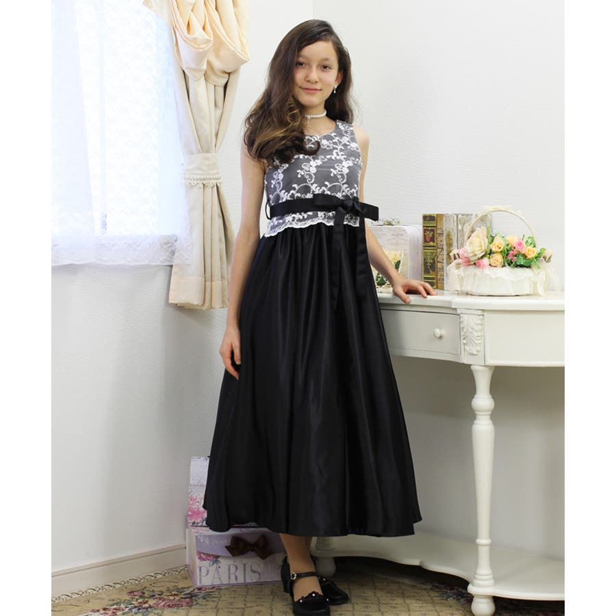 b9a25f72c1396 子供 ドレス 女の子用ロングドレス ピアノ発表会 結婚式 子供服 子供 ...