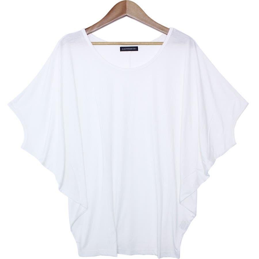 ●ゆるリラックス ワイドスリーブドルマンTシャツ トップス 16