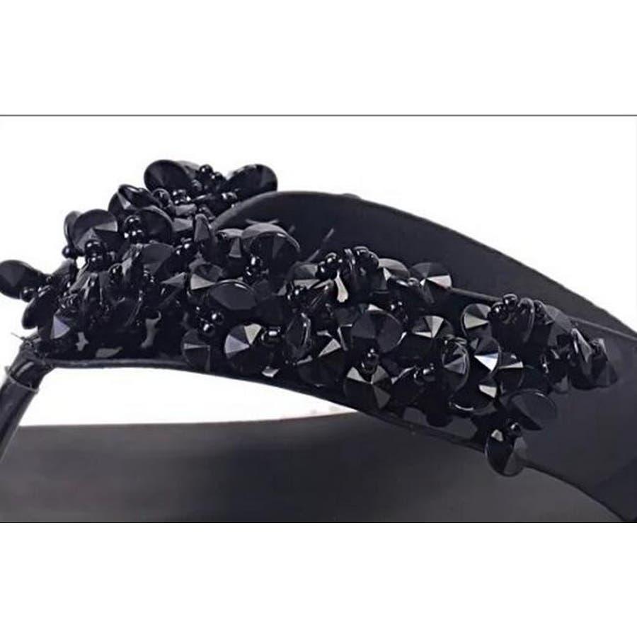ビジューサンダル ビーチサンダル 靴 レディースサンダル ビーサン フラット 春夏新作 大きいサイズ トング 歩きやすい ぺたんこ楽ちん リゾート 春夏 レディースファッション通販 7