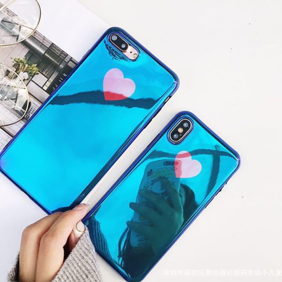 人気!おしゃれ かわいい シンプル キラキラ ハート iPhoneケース スマホケース アイフォン カバー iPhone X (iPhone