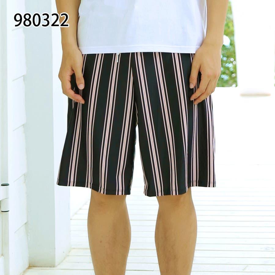 メンズファッション通販サーフパンツ メンズ 水着 ビーチ 海パン ハーフパンツ ボーダー カジュアル 薄手 海水パンツ オシャレメンズファッション 29