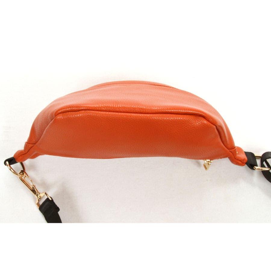 (LAMBMODE) ボディバッグ レディース コンパクト ポーチ ミニバッグ ウエストポーチ 軽量 サブバッグ レザー トレンド大人 おしゃれ 普段使い お出かけ 旅行 お土産 37300 10