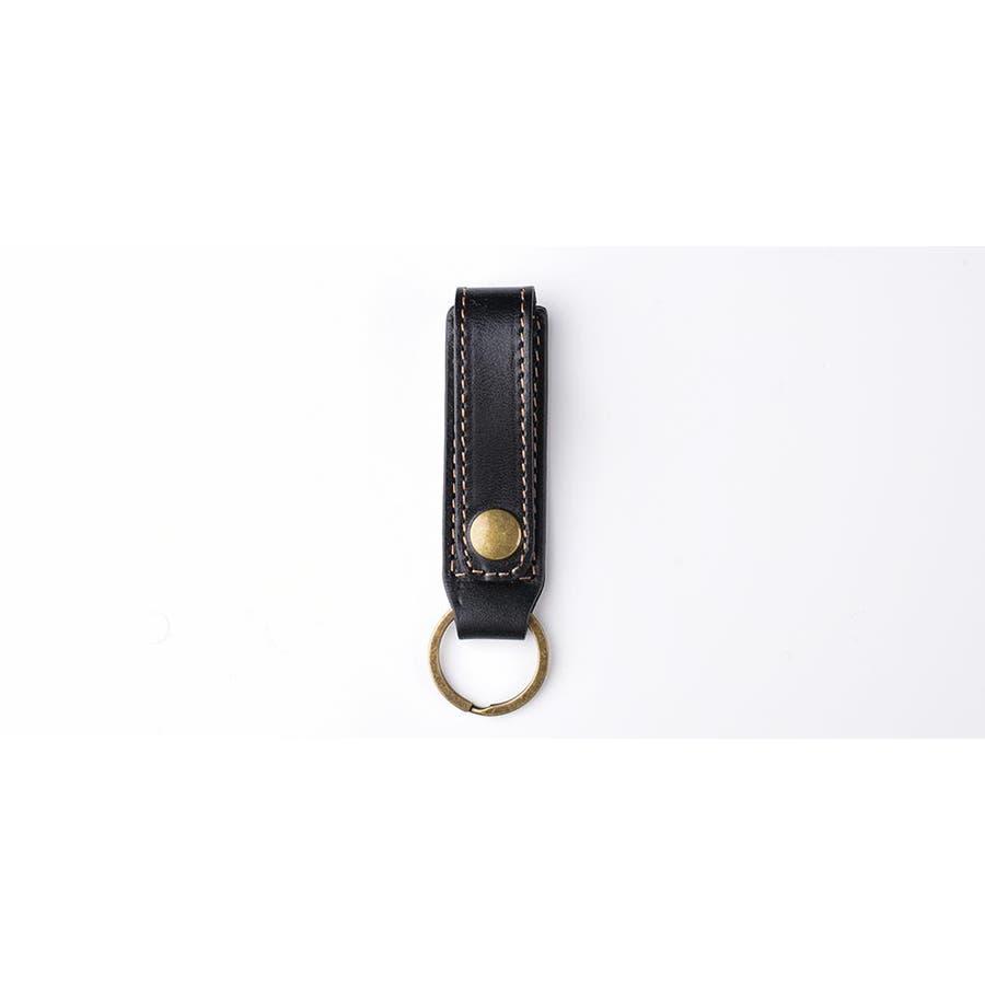 【イタリアン革】LETDREAM キーホルダー キーリング メンズ 革 レザー 本革 ループキーホルダー レディース ブランドおしゃれ男性 女性 10
