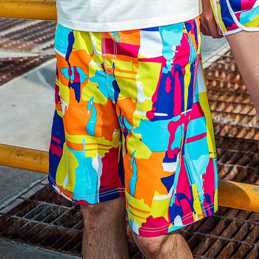 LEISURE SPORT(レジャースポーツ) サーフパンツ メンズ 海パン 海水パンツ サーフショーツ 水着 男性用海水浴大きいサイズ 旅行 ビーチショーツ スイムショーツ ショートパンツ ハーフパンツ 短パン パンツ ls17005 83