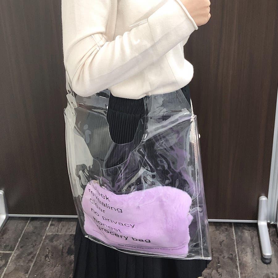 クリアビニールトートバッグ 2