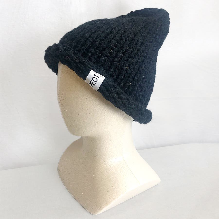 カラフルビッグニット帽 21