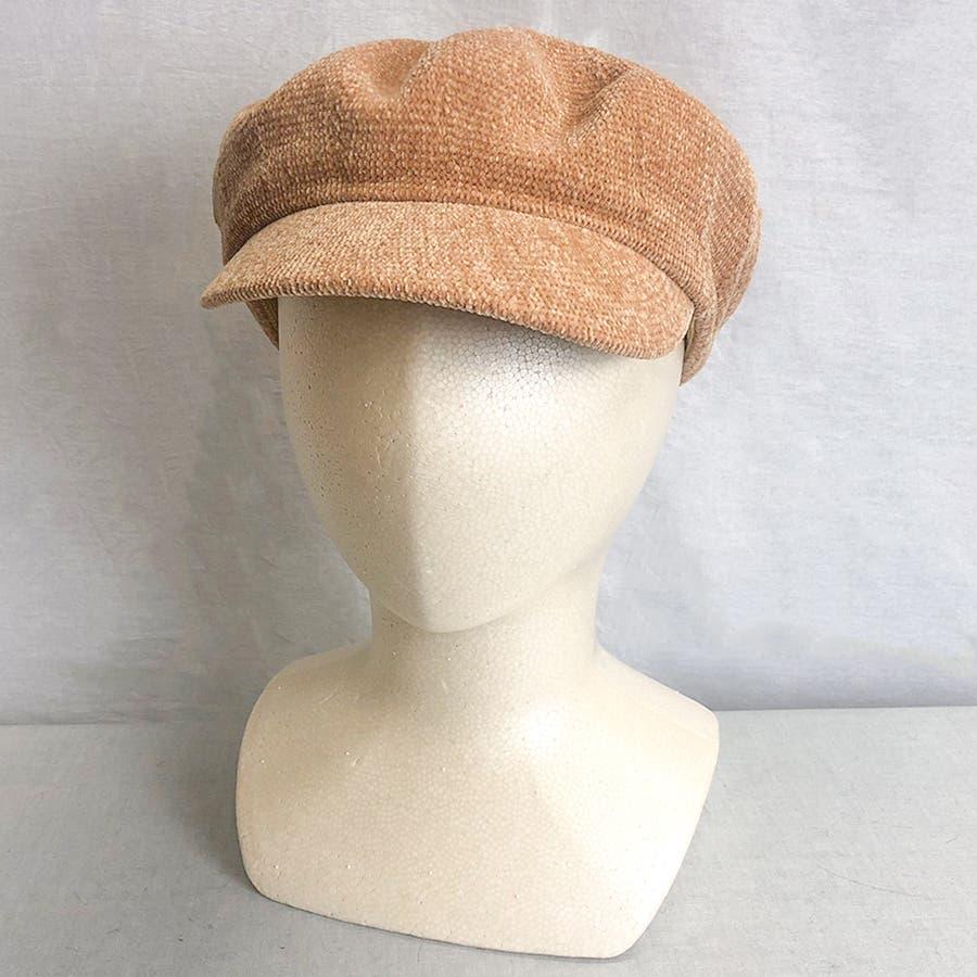 もこもこキャスケット帽 3