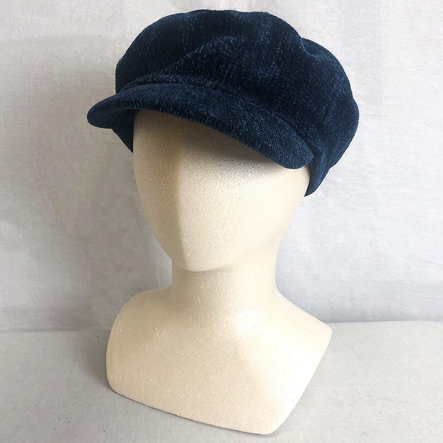 もこもこキャスケット帽 5