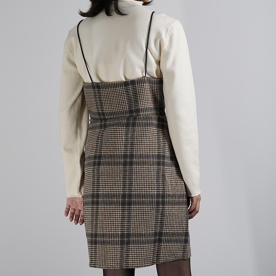 肩紐ジャンパースカート ワンピース ジャンスカ 10